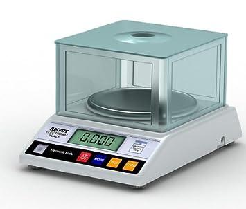 Oferta de lanzamiento-Balanza de laboratorio de gran precisión 600 g x 0,01 g: Amazon.es: Electrónica