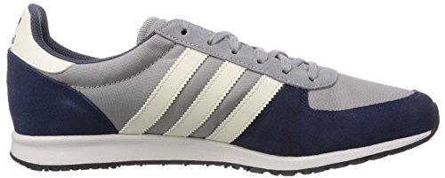 adidas Originals Adistar Racer - Zapatillas de cuero para hombre gris - Grau (Mgh Solid Grey/Cream White/Core Black)