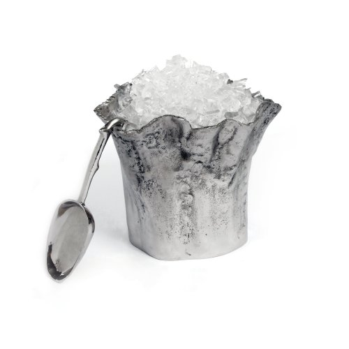 Star Home Artisan Trunk Ice Bucket with Scoop, 10-InchH by Star Home