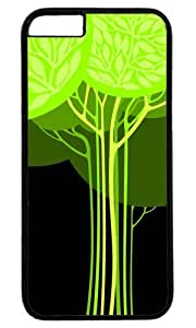 Green tree Thanksgiving Halloween Masterpiece Limited Design PC Black Case for iPhone 6 Plus by Cases & Mousepads