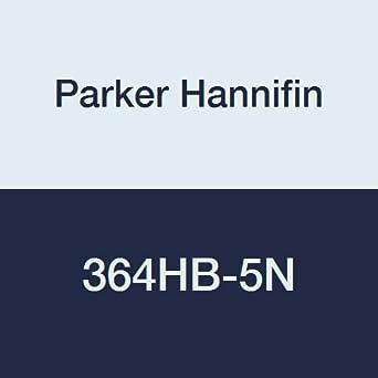 White 5//16 Hose Barb x 5//16 Hose Barb Parker Hannifin Corporation Parker Hannifin 364HB-5N Par-Barb Nylon Union Tee Fitting 5//16 Hose Barb x 5//16 Hose Barb