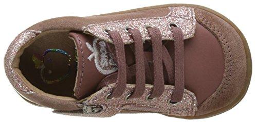 Shoopom Bouba Zip Box, Baby Mädchen Babyschuhe - Lauflernschuhe Rose (Old Pink)