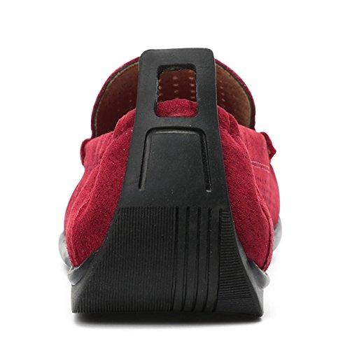 Miyoopark - zapatilla baja hombre granate