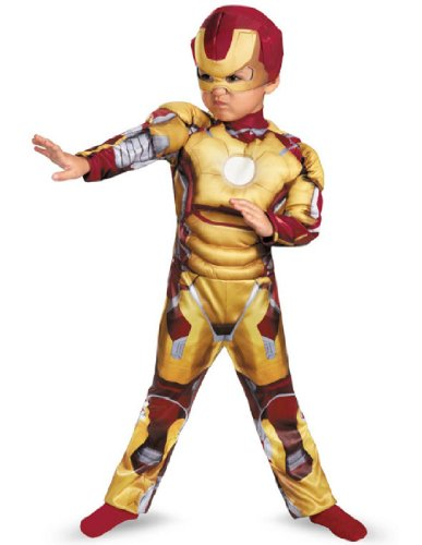 Boy's Iron Man Mark 42 Costume (Tony Stark Halloween Costume)