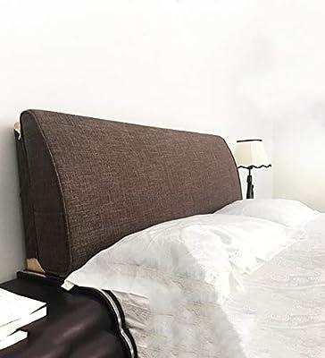 Amazon.com: Almohada de lino para el respaldo de la cama ...