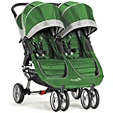 Baby Jogger City Mini Double Stroller, Evergreen/Gray