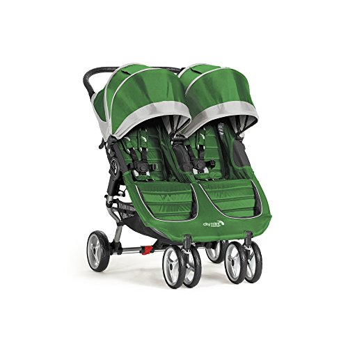 (Baby Jogger City Mini Double Stroller, Evergreen/Gray)