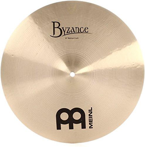 Meinl Cymbals B16MC Byzance 16-Inch Traditional Medium Crash Cymbal (VIDEO) ()