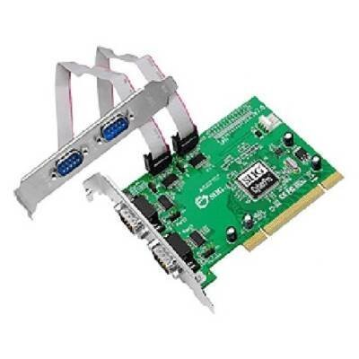 SIIG IO Card JJ-P45012-S7 CyberSerial 4S 550 PCI 4-Port Serial 9Pin Controller Card