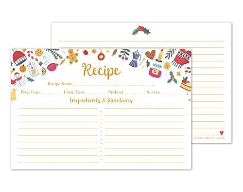 recipe cards christmas - 6