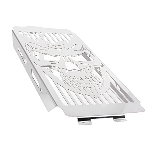 Timmart Radiator Grille Guard Cover Protector Fits for Honda Shadow ACE VT400 VT750 1997-2003, Honda Shadow Spirit 750 ()