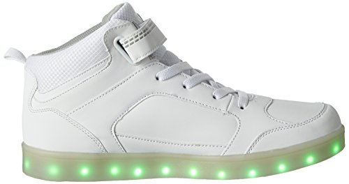 Weiss Disco Blanco Adulto Unisex Altas High Zapatillas Lico FRfOqS0S