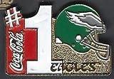 Philadelphia Eagles Retro Logo #1 Coca-Cola Lapel Pin