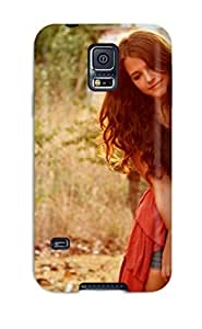 Andters Fashion Protective Women Redheads Case Cover For Galaxy S5