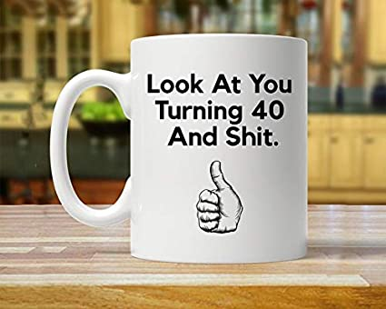 Amazon Coffee Mug Gift For Forty Year Old 40th Gift Ideas