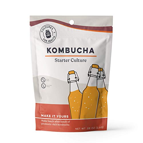 Dehydrated Kombucha SCOBY | Cultures for Health | Safer Than Live SCOBY | Make Homemade Probiotic Kombucha