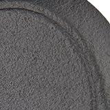 Emtek 8461 #1 Wrought Steel Deadbolt Single Cylinder 2 finish options (Flat Black Steel (FBS))
