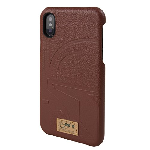 Star Wars iPhone X Case [Boba Fett Limited Edition] [HEX - Focus Luxury Series] Premium Leather, Protective Case, 2017 Black Series The Last Jedi Gifts Collectible Apple iPhone X Ten (Supreme Edition Boba Fett Costumes)