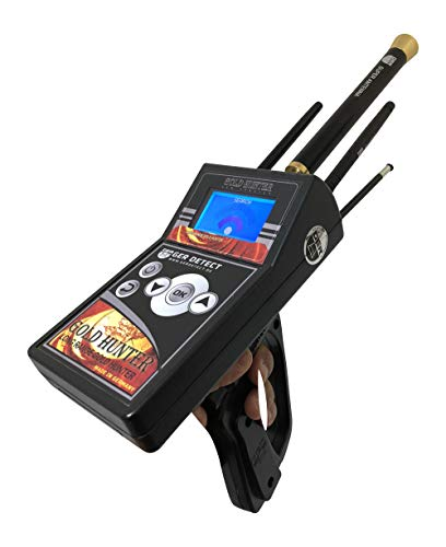 GER DETECT Gold Hunter Metal Detector - Professional Geolocator Long Range Detector | Underground Depth Scanner & Distance Targeting | Find Gold, Silver, Coins, Jewelry, Cavity, Larger Treasure