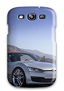 Galaxy S3 Hard Back With Bumper Silicone Gel Tpu Case Cover Vehicles Car