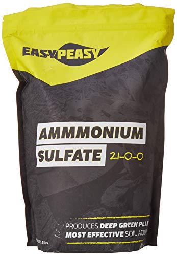 Ammonium Sulfate 21-0-0-24 fertilizer AMS Easy Peasy Plants Sulfur and