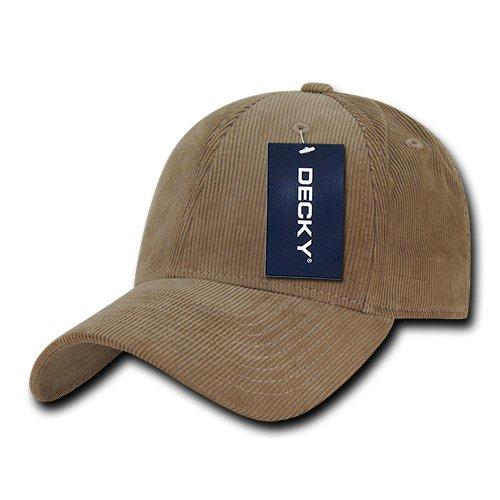 Decky 231-Blk - Gorras de Pana para Hombre, Talla única, Color ...