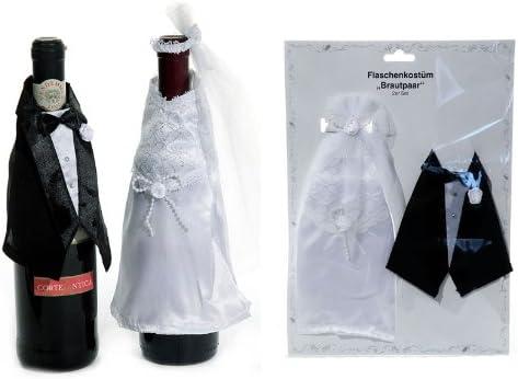 Botellas disfraz de novios o aniversario de boda-regalo: Amazon.es: Hogar