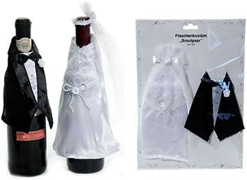 Botellas disfraz de novios o aniversario de boda-regalo: Amazon.es ...