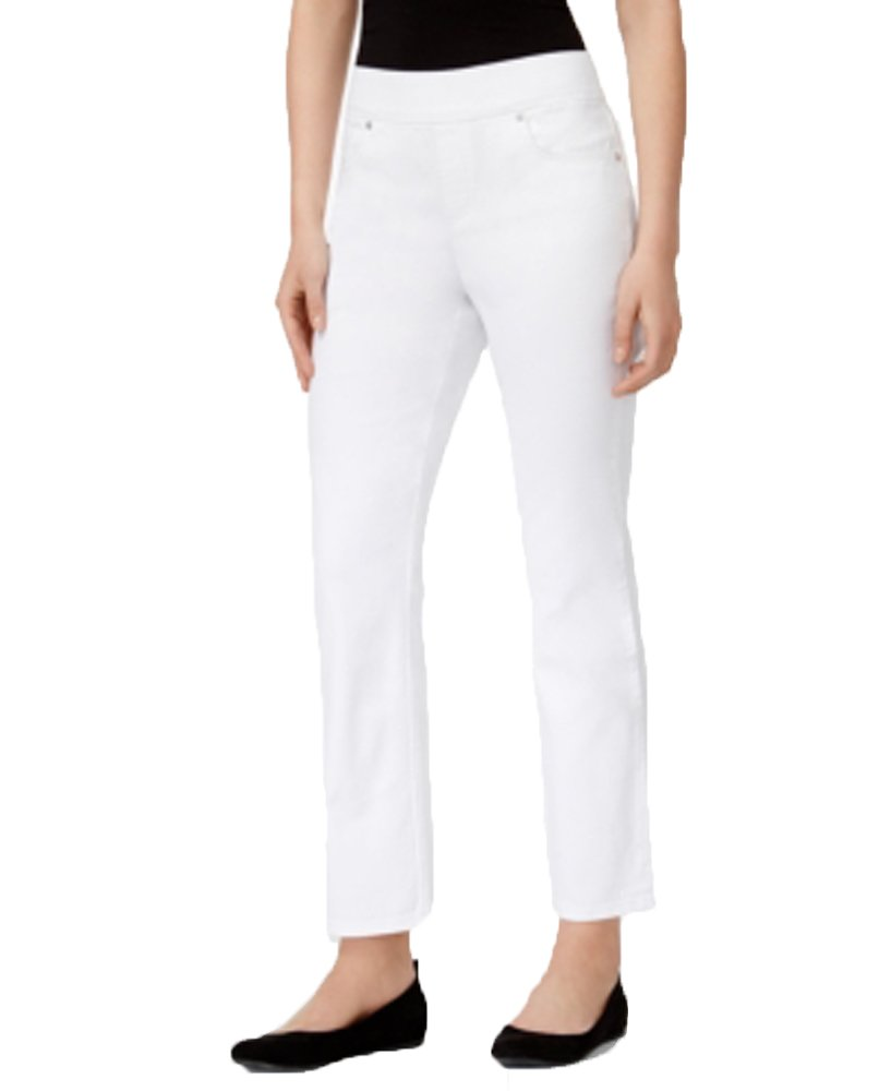 Style & Co. Ankle Jeans (Bright White, XL)