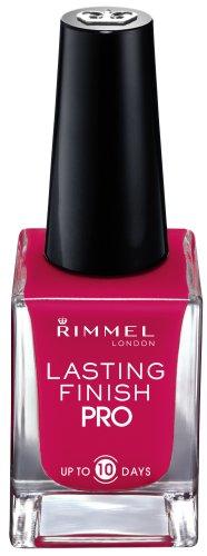 Rimmel Lasting Finish Pro Nail Enamel Cherry Fashion