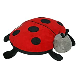 Cloud b Plush Aroma Pillow Sleep Aid, Twilight Ladybug (Discontinued by Manufacturer)