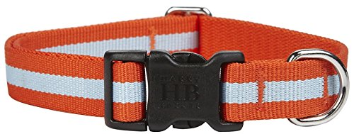 Harry Barker Eton Collar - Orange & Blue - Large - 12-20 inch