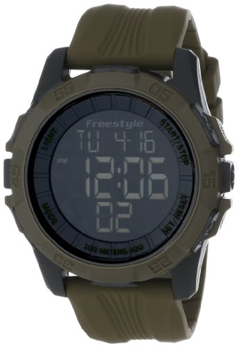 Freestyle Unisex 101986 Sport Big Digit Display Digital Strap Olive Drab Watch