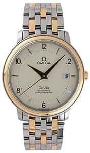 Omega DeVille Prestige Two Tone Mens Watch 4312.21