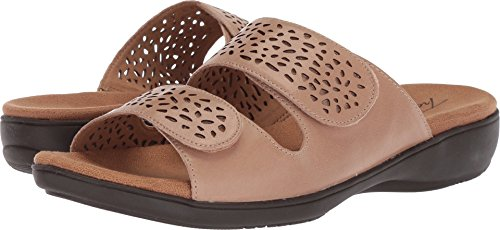 Trotters Women's Tokie Sandal, Cement, 7.0 M US