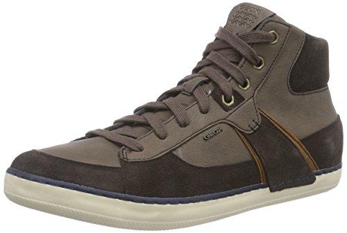 Geox U Box B, Men Hi-Top Sneakers Brown - Braun (C6009coffee)
