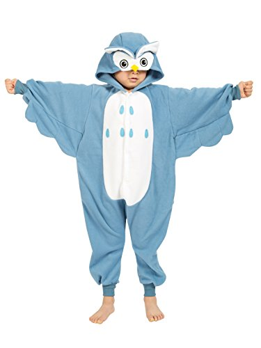 BELIFECOS Childrens Owl Costumes Animal Onesies Kids Homewear Pajamas -