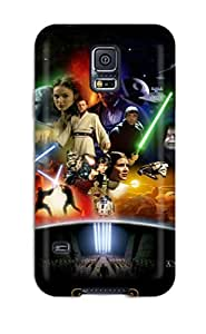 Hot Snap-on Star Wars Anthology Hard Cover Case/ Protective Case For Galaxy S5 by mcsharks