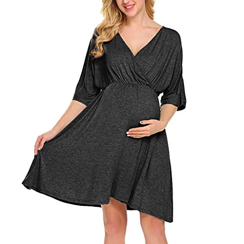 Qingell Women's Sleeveless Blackless Ruffle Dress Polka Dot Pocket Loose Swing Casual Short Dress