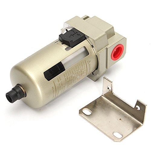 SENREAL AF4000-04 Air Filter 1/2 Air Inline Drain Filter Compressor Water Moisture Trap Separator