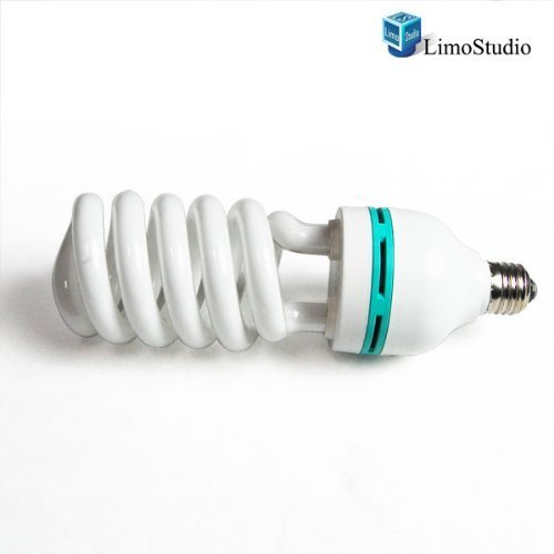 LimoStudio Professional Quality 85 Watt Compact Fluorescent Full Spectrum Photo Light Bulb Photography by LimoStudio, AGG866