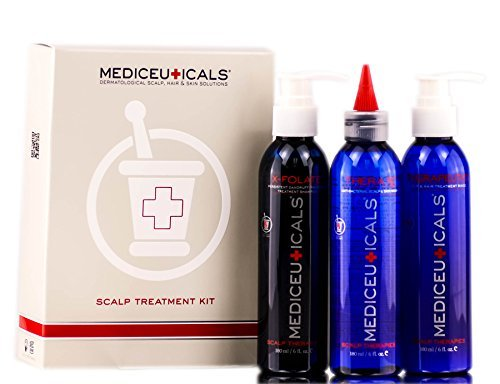 - Therapro Mediceuticals Scalp Treatment - 3 Piece Kit (for Dandruff & Psoriasis)