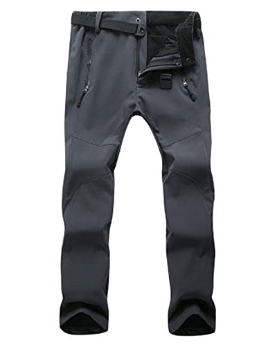 Climbing Keep Outdoor Men's Women's Women Waterproof Resistant Gray Pants ski Breathable Wear Warm ZongSen Thickened Trousers BUqIEcU7