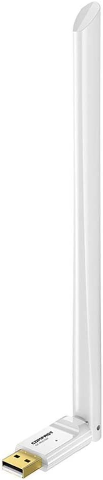 Sundlight USB Wireless Smart Wi-Fi Router Easy Setup Suit for Office//Restaurant//Home White