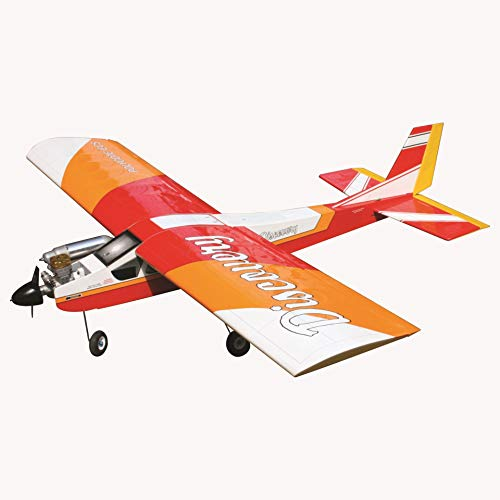 VMAR Discovery Balsa Plane Kit (ARF) Size.40-.46 650-850 Watts-Red