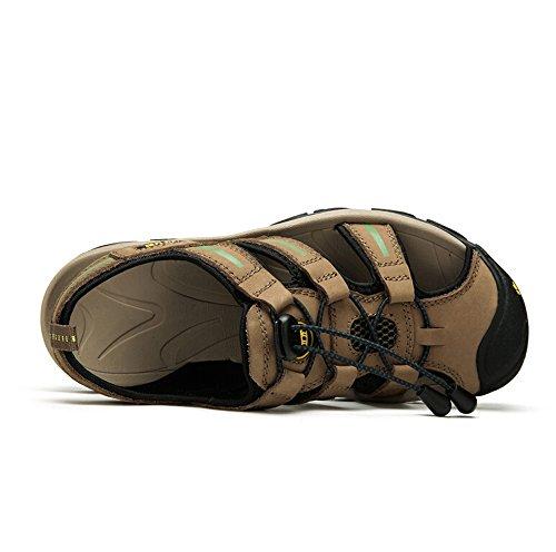 39 Performance Toe Camel Mens RV M Green EU Color Sandal Closed Size zwHS4x