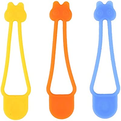 Seal In Freshness Set of 12 Silicone Ties Trenton Gifts Silicone Bag Fasteners