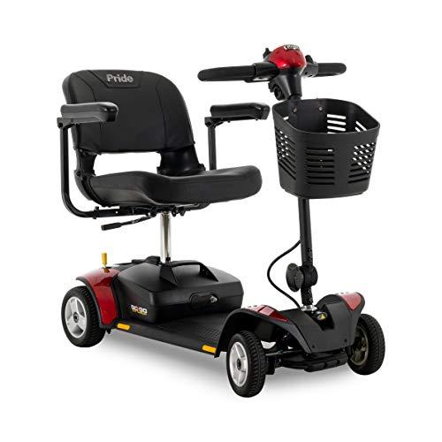 Pride Go-Go Elite Traveller 4-Wheel Mobility Travel Scooter