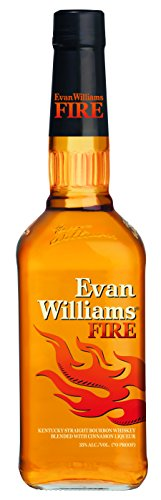 Whisky Evan Williams Fire 750ml