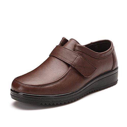 escoge los zapatos/Zapatos de fondo suave para la tercera edad/Medio grande y zapatos de las mujeres de edad A